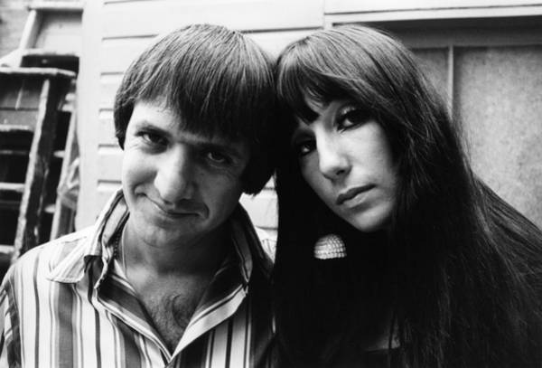 Sonny Bono Wall Art - Photograph - Photo Of Cher And Sonny Bono And Sonny by Ivan Keeman