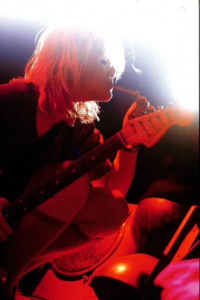 Guitarist Photograph - Photo Of Courtney Love And Hole by Erica Echenberg