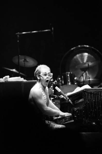 Elton John Photograph - Photo Of Elton John by Steve Morley
