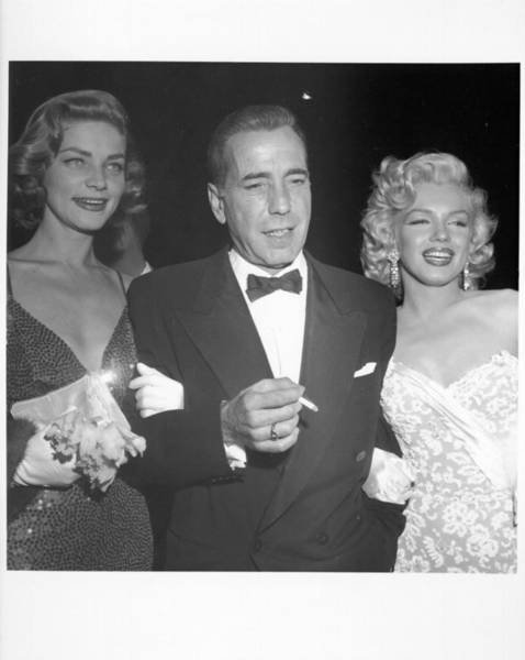 Marilyn Monroe Photograph - Photo Of Humphrey Bogart by Michael Ochs Archives