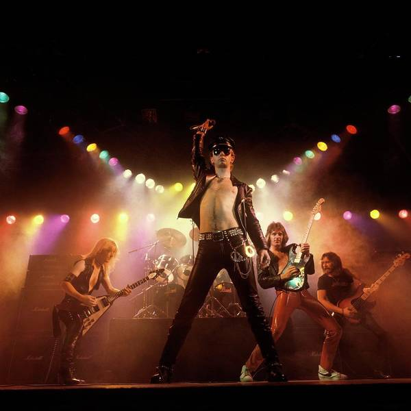 Photograph - Photo Of Ian Hill And Judas Priest And by Fin Costello