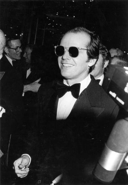 Smiling Photograph - Photo Of Jack Nicholson by Michael Ochs Archives