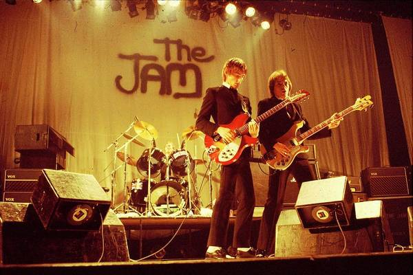 New Wave Music Photograph - Photo Of Jam by Steve Morley
