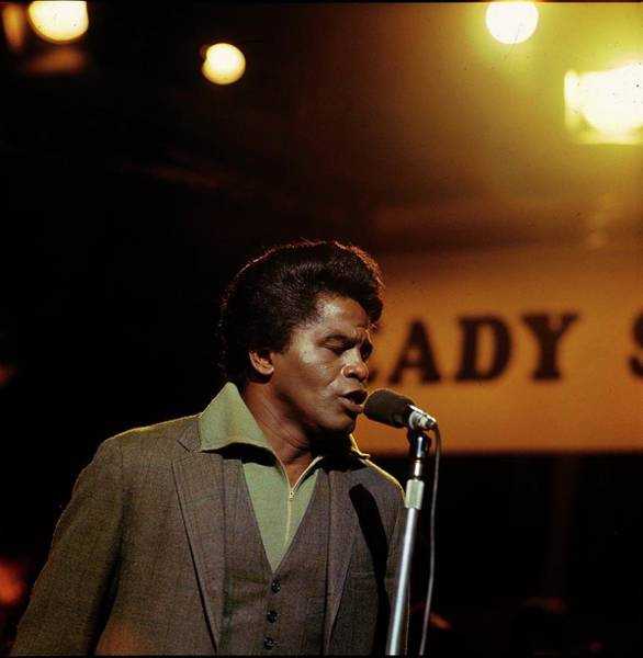 James Brown Photograph - Photo Of James Brown by David Redfern