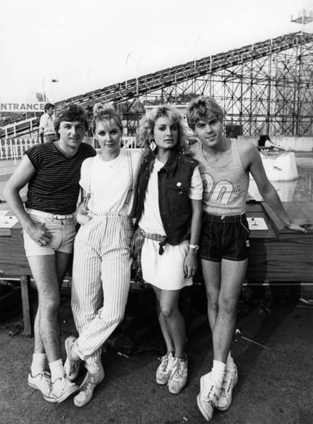 Margate Photograph - Photo Of Jay Aston And Bucks Fizz And by Erica Echenberg