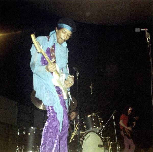 Jimi Hendrix Photograph - Photo Of Jimi Hendrix And Jimi Hendrix by Ed Perlstein