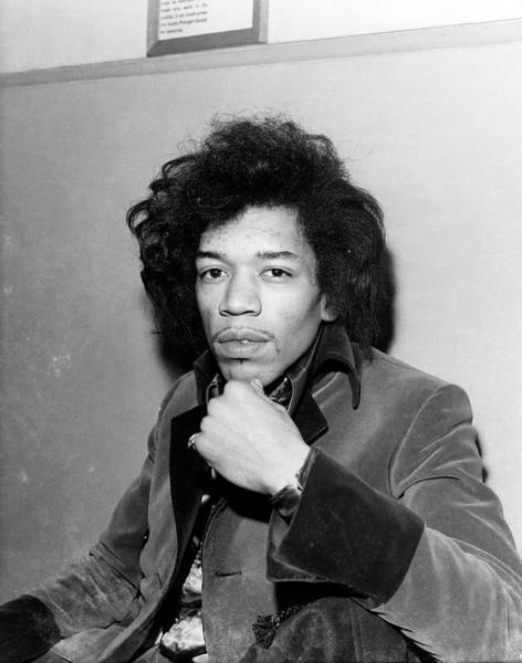 Jimi Hendrix Photograph - Photo Of Jimi Hendrix by Ca