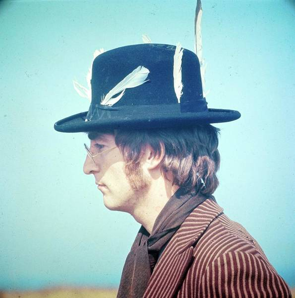 Men Photograph - Photo Of John Lennon by David Redfern