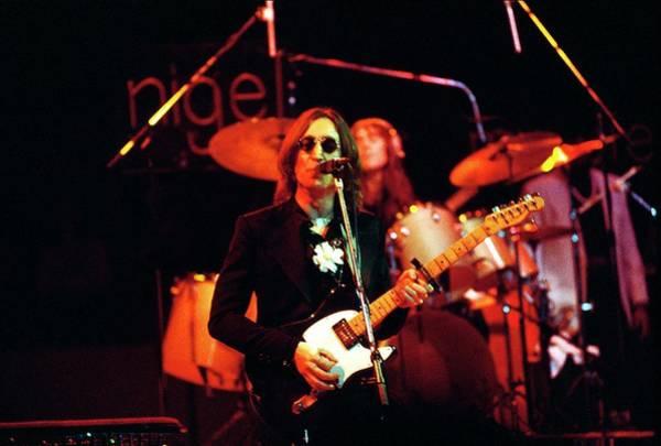 Elton John Photograph - Photo Of John Lennon by Steve Morley