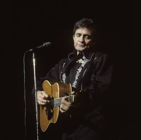 Photograph - Photo Of Johnny Cash by David Redfern