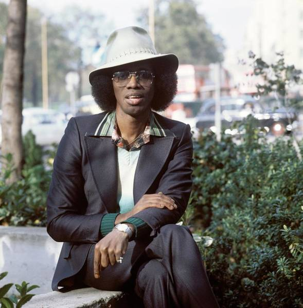 Photograph - Photo Of Johnny Guitar Watson by David Redfern