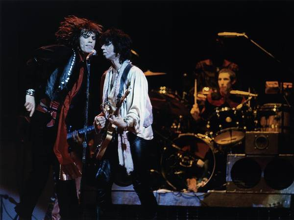 Mick Jagger Photograph - Photo Of Keith Richards And Rolling by Graham Wiltshire