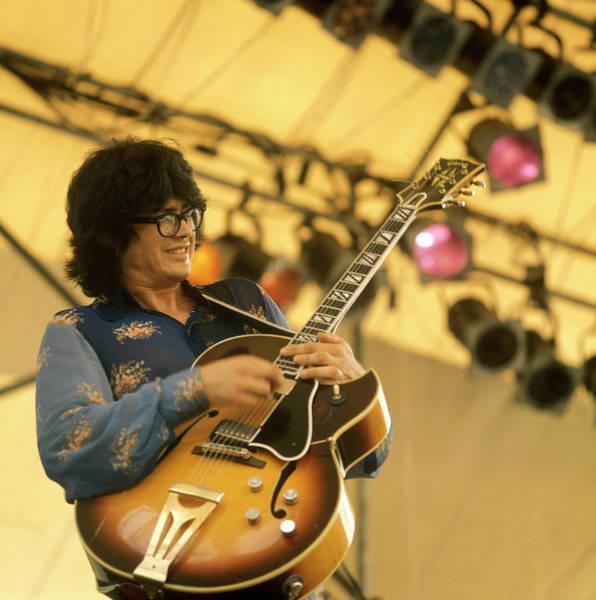 Guitarist Photograph - Photo Of Larry Coryell by David Redfern