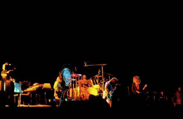John Paul Jones Photograph - Photo Of Led Zeppelin by Mike Prior