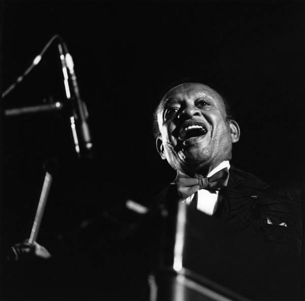 Lionel Photograph - Photo Of Lionel Hampton by David Redfern