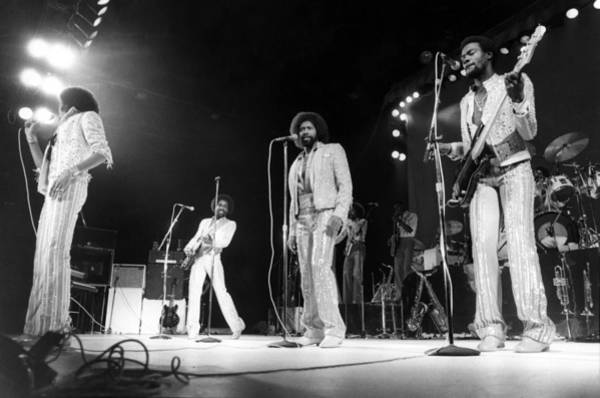Lionel Photograph - Photo Of Lionel Richie And Commodores by Mike Prior