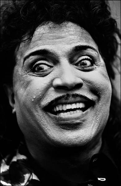 Rock Music Photograph - Photo Of Little Richard by Paul Bergen