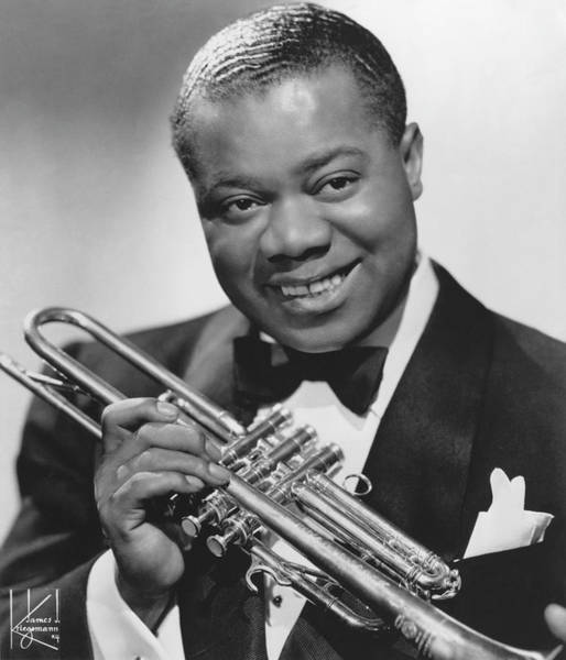 Photograph - Photo Of Louis Armstrong by Michael Ochs Archives