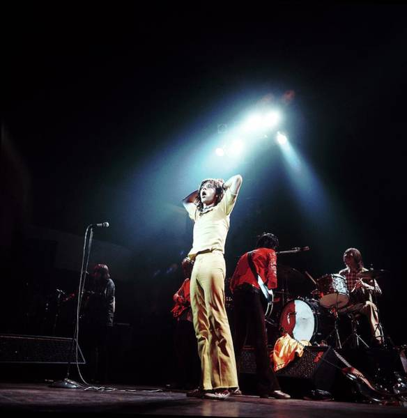 Photograph - Photo Of Mick Jagger And Rolling Stones by David Redfern