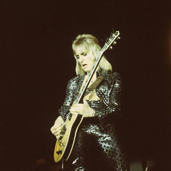 Wall Art - Photograph - Photo Of Mick Ronson by Colin Fuller