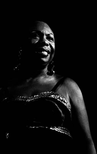 Photograph - Photo Of Nina Simone by Paul Bergen