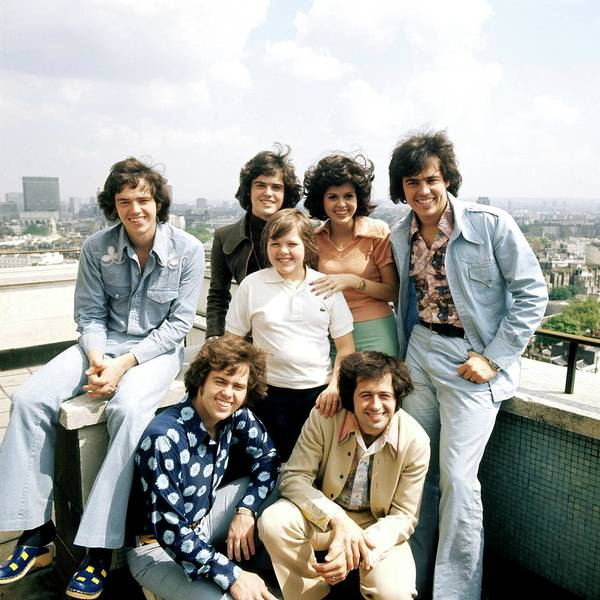 Photograph - Photo Of Osmonds by David Redfern