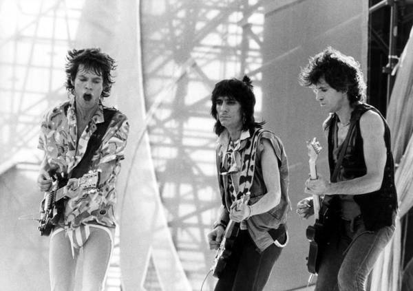 Photograph - Photo Of Rolling Stones by Graham Wiltshire