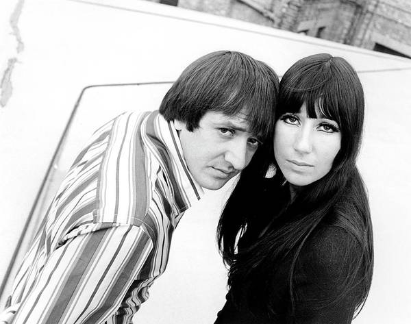 Sonny Bono Wall Art - Photograph - Photo Of Sonny Bono And Sonny & Cher by Ivan Keeman
