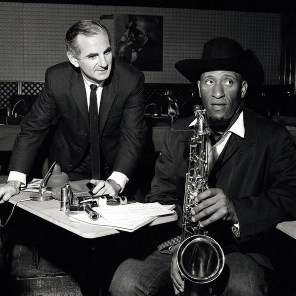 Wall Art - Photograph - Photo Of Sonny Rollins And Ronnie Scott by David Redfern