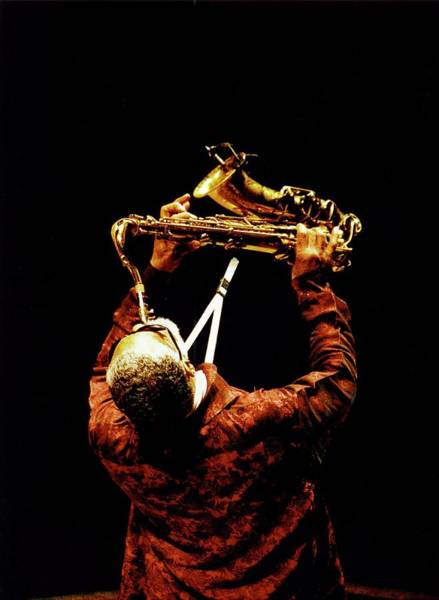 Wall Art - Photograph - Photo Of Sonny Rollins by Paul Bergen