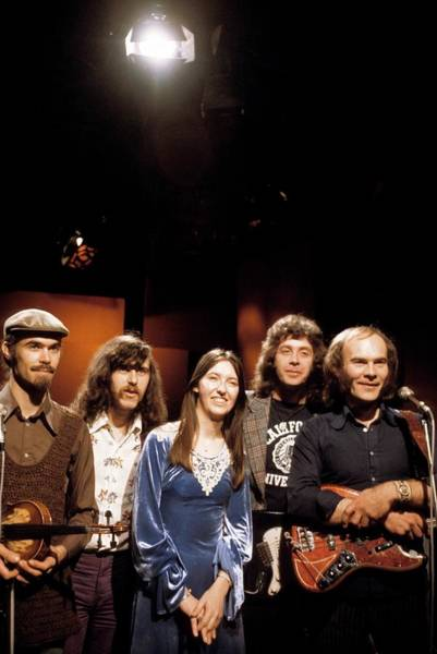 Span Wall Art - Photograph - Photo Of Steeleye Span by Tony Russell