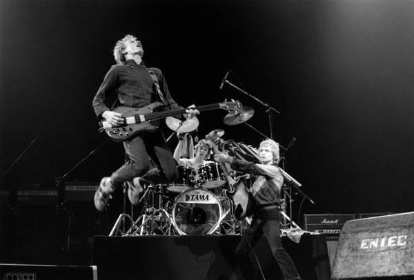 Live Bands Photograph - Photo Of Sting And Andy Summers And by Fin Costello