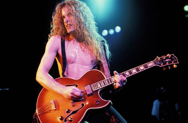 Ted Photograph - Photo Of Ted Nugent by Mike Prior