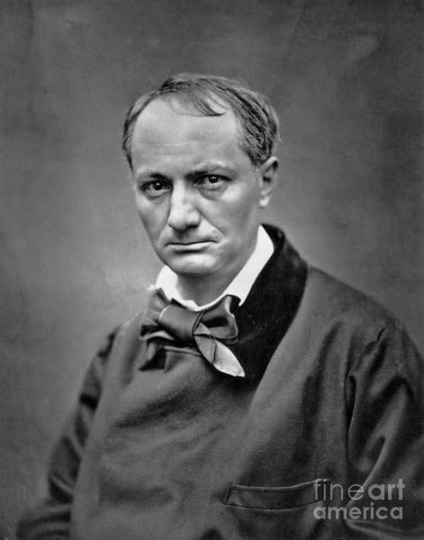 Wall Art - Photograph - Photo Of The Poet Baudelaire By Etienne Carjat by Etienne Carjat