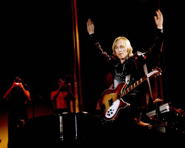 Photograph - Photo Of Tom Petty & Heartbreakers by Larry Hulst