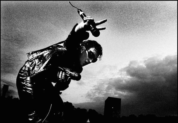 U2 Photograph - Photo Of U2 by Paul Bergen