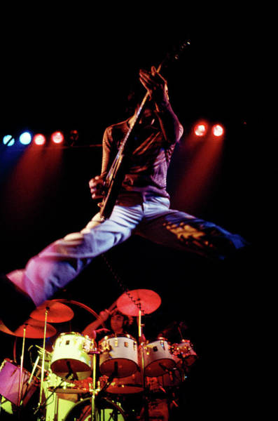 Jumping Photograph - Photo Of Who And Keith Moon And Pete by Andrew Putler