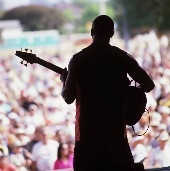 Photograph - Photo Of World Music And Guitarist by David Redfern