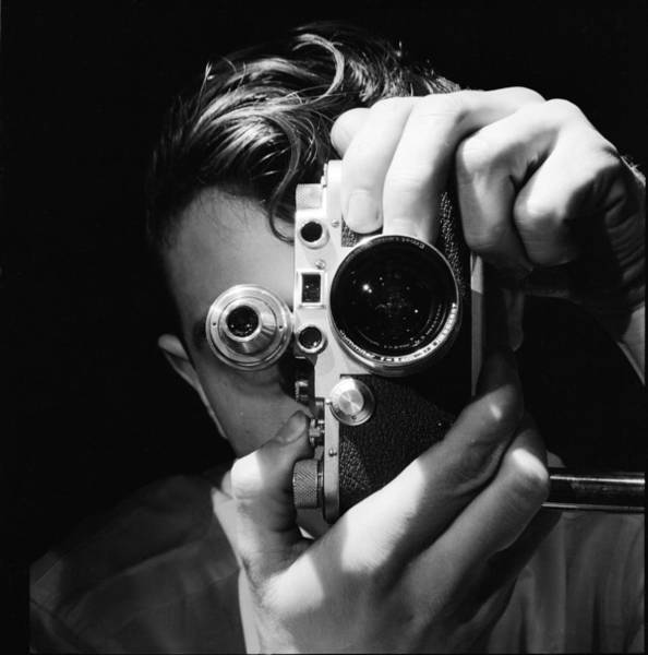 Photograph - Photographer by Andreas Feininger