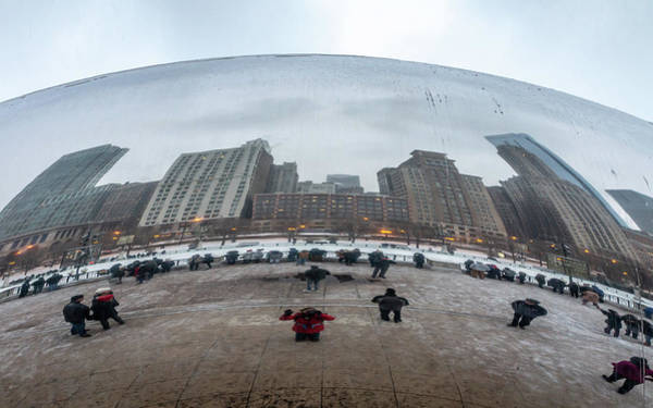 Photograph - Photographer In The Bean by Framing Places