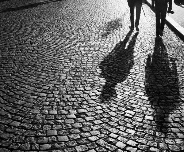 Photographers At Dawn In Montmartre Art Print