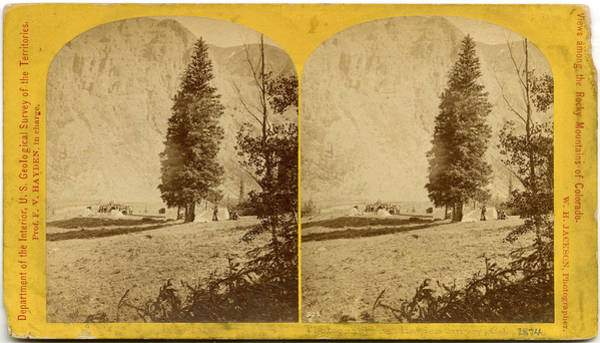 Photographers, Hayden Survey, Colorado Art Print