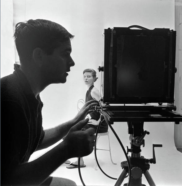 Photograph - Photographing Bettina by Gordon Parks