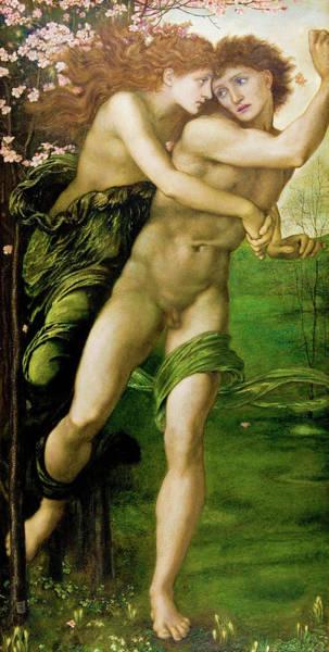 Wall Art - Painting - Phyllis And Demophoon - Digital Remastered Edition by Edward Burne-Jones