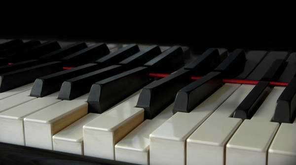 Piano Photograph - Piano Keyboard by Martin Zalba