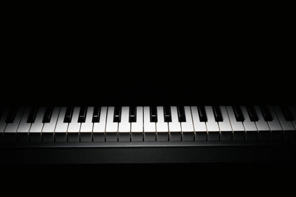 Piano Photograph - Piano Keyboard by Paul Taylor