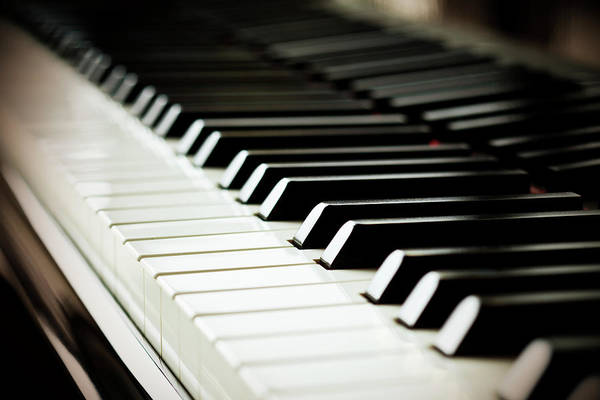 Piano Photograph - Piano Keys by Mbbirdy