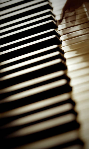 Piano Photograph - Piano by Massimo Merlini