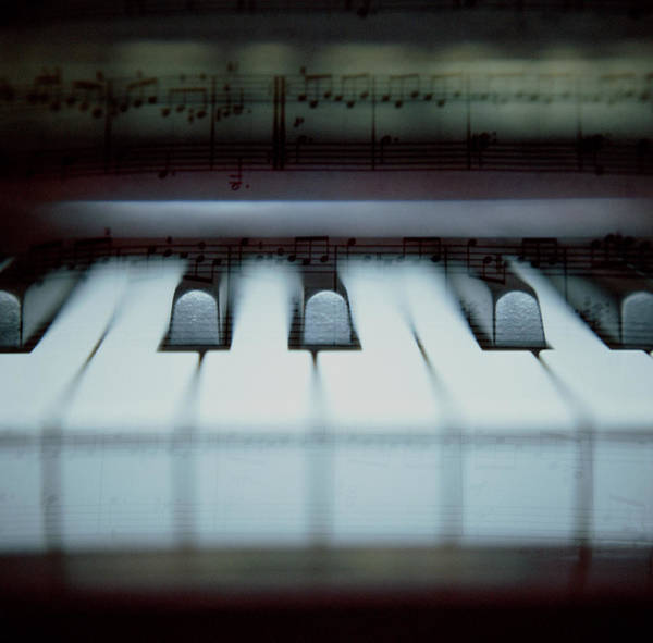 Piano Photograph - Piano by Photography By Bert.design