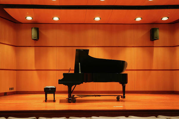 Piano Photograph - Piano Recital by Yenwen